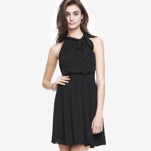 Express Tie-Neck Dress